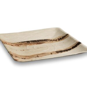 palm rectangle tray