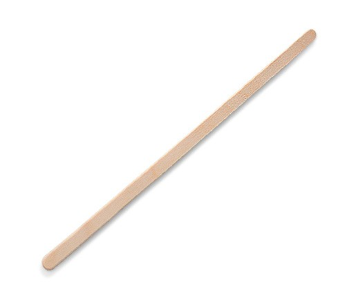 Wood, Disposable Coffee Stirrer