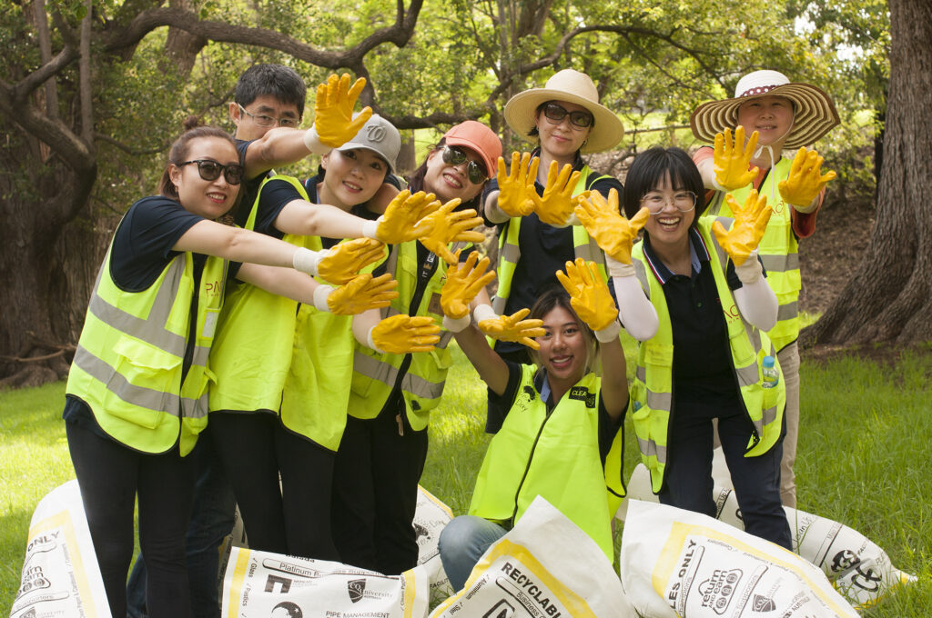 greenmark clean up australia day