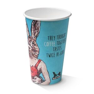 Paper, PLA, Disposable Coated SW Cup Art Print 80mm12oz