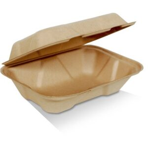 """Bamboo, Disposable Clamshell 9x6x3"""""""