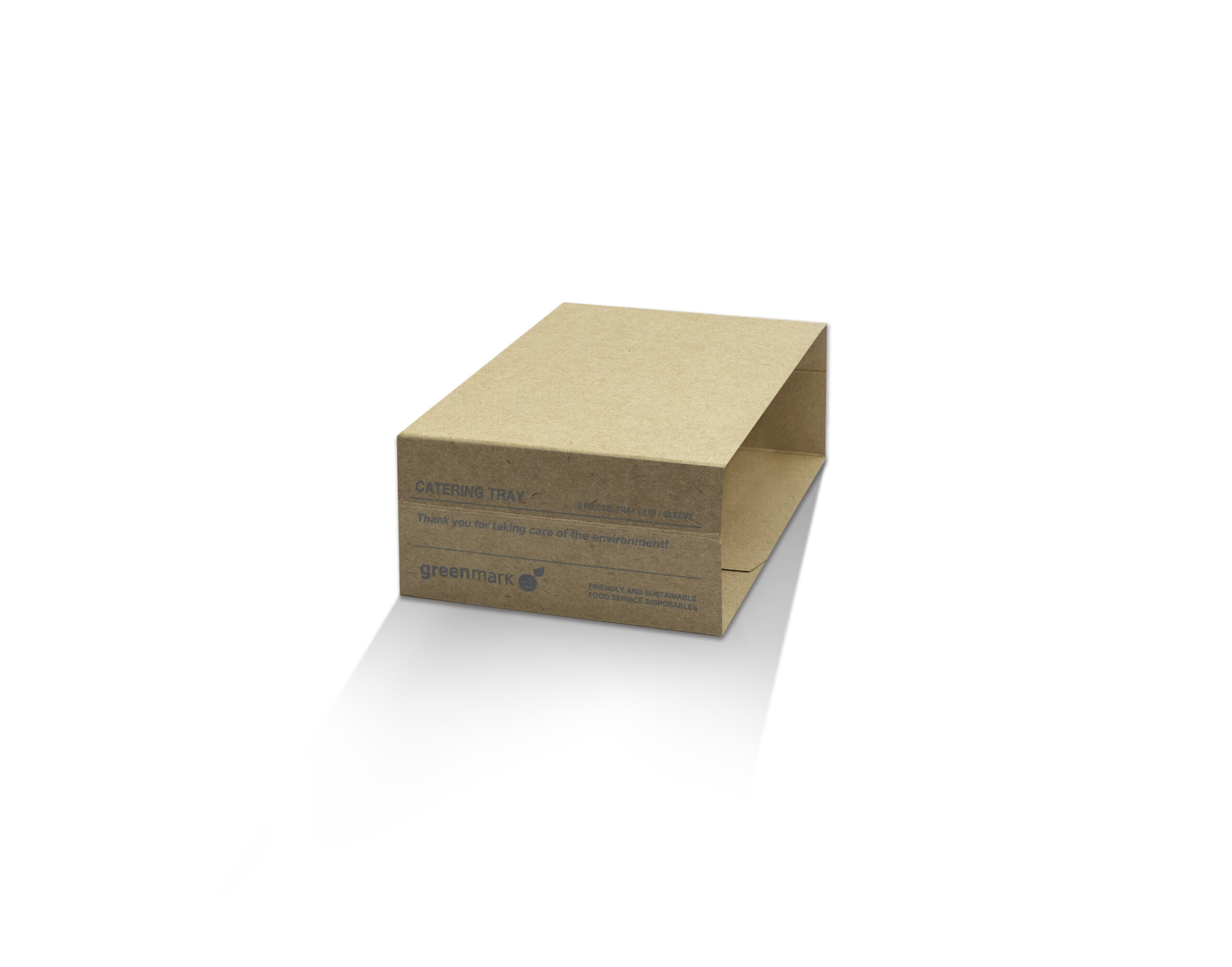 Kraft Paper, Disposable Catering Tray Sleeve High 50mm