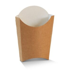 Cardboard, Disposable Chip Box - Large