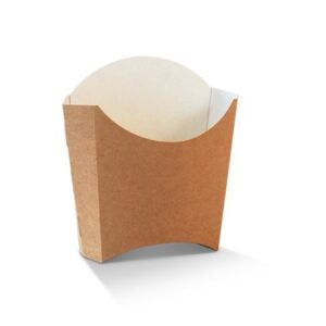 Cardboard, Disposable Chip Box - Small