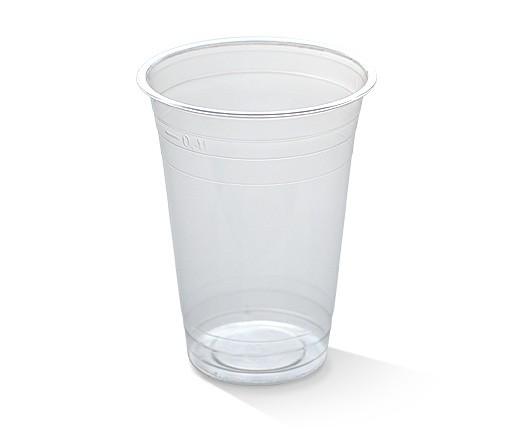 PLA, Disposable Clear Cold Cup 400ml