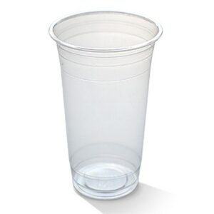PLA, Disposable Clear Cold Cup 600ml