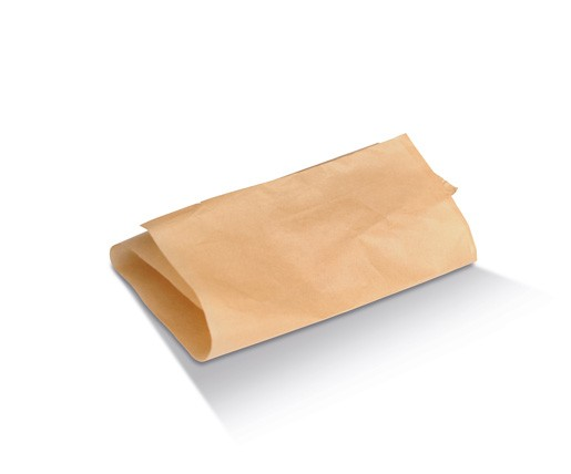 Paper, Disposable Natural Greaseproof Paper 1/4 Cut