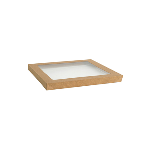 Paper, PLA, Disposable Catering Tray Lid Medium