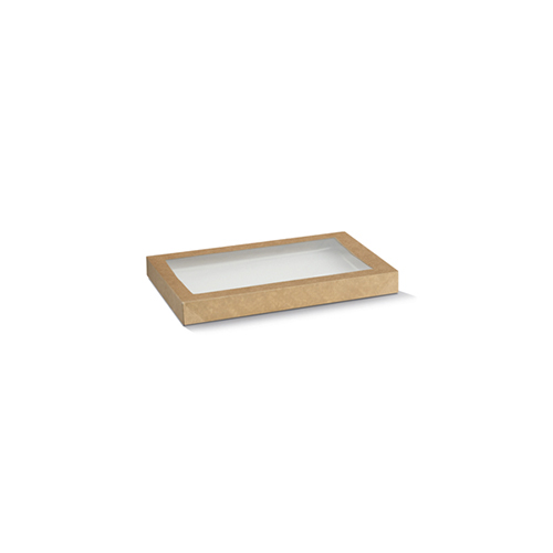 Paper, PLA, Disposable Catering Tray Lid Small