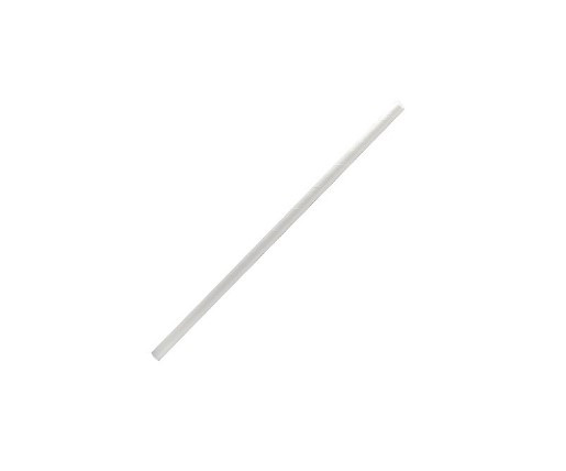 Paper, Disposable Straw Cocktail White