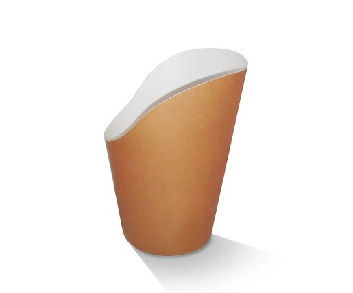 Paper, PLA, Disposable Coated Scoop Cup 12oz.