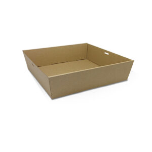 Cardboard, Disposable Catering Tray Square Large