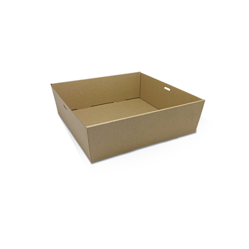 Cardboard, Disposable Catering Tray Square Medium