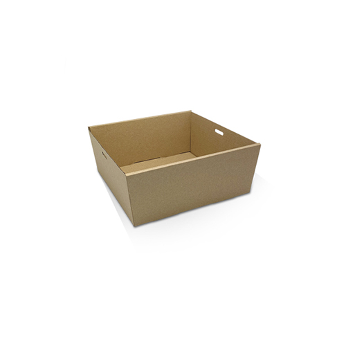 Cardboard, Disposable Catering Tray Square Small