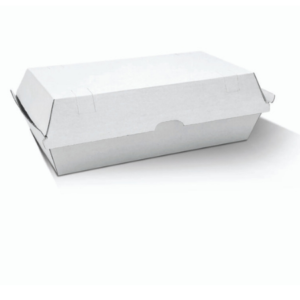 Corrugated Cardboard, Disposable Snack Box Large